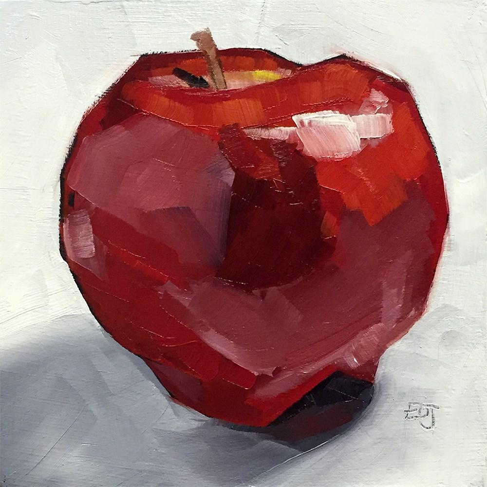 """""""Lunch"""" original fine art by Elizabeth Dawn Johnston"""