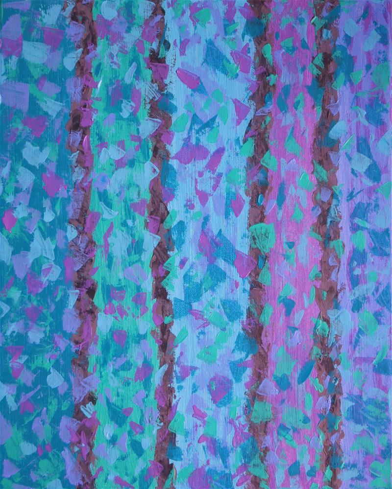 """Collaboration"" original fine art by Sandy Abouda"