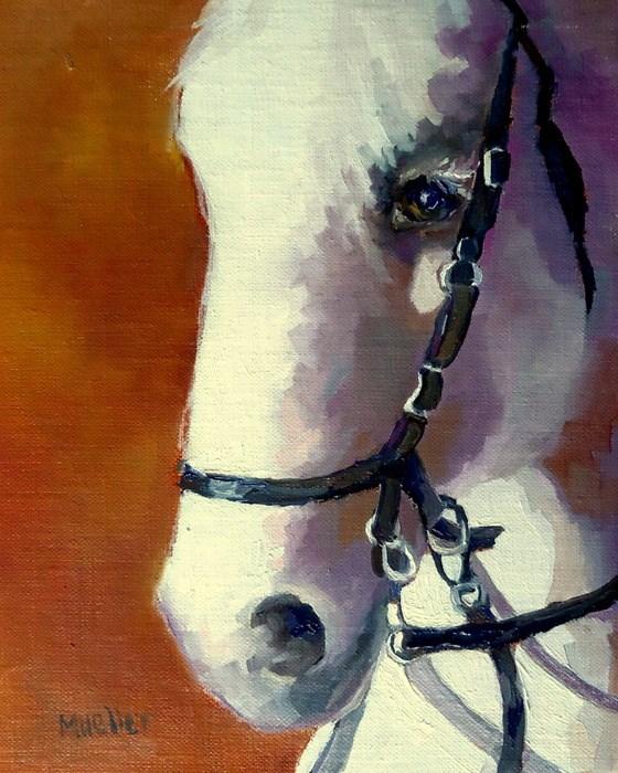 """""""A Noble Soul"""" original fine art by Laurie Mueller"""