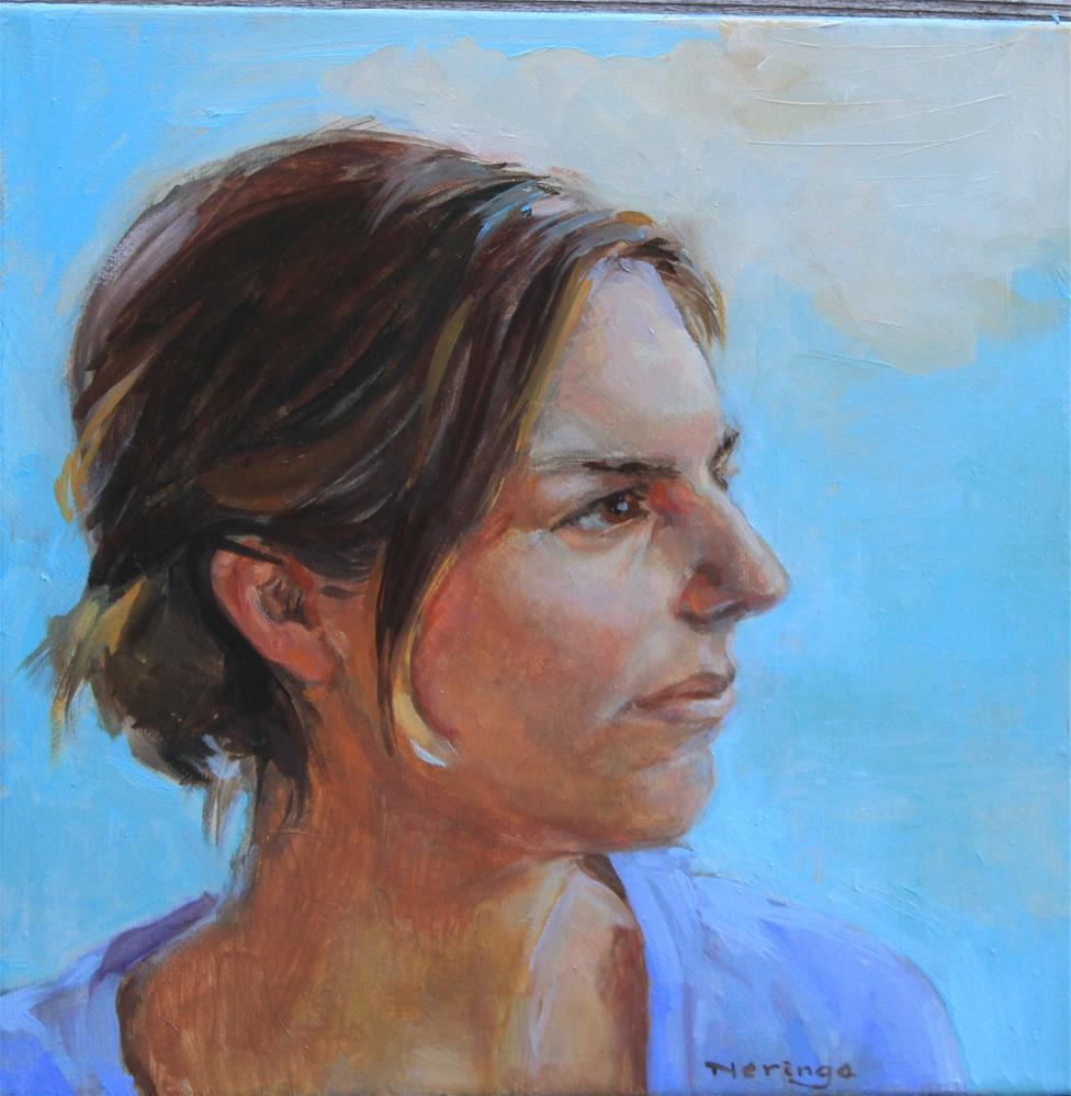 """Ellie"" original fine art by Neringa Maxwell"