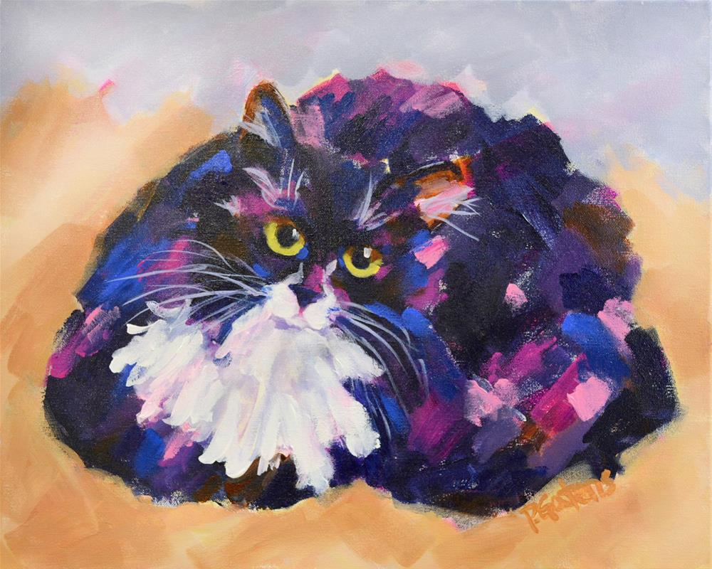 """Tux Deluxe"" original fine art by Pamela Gatens"