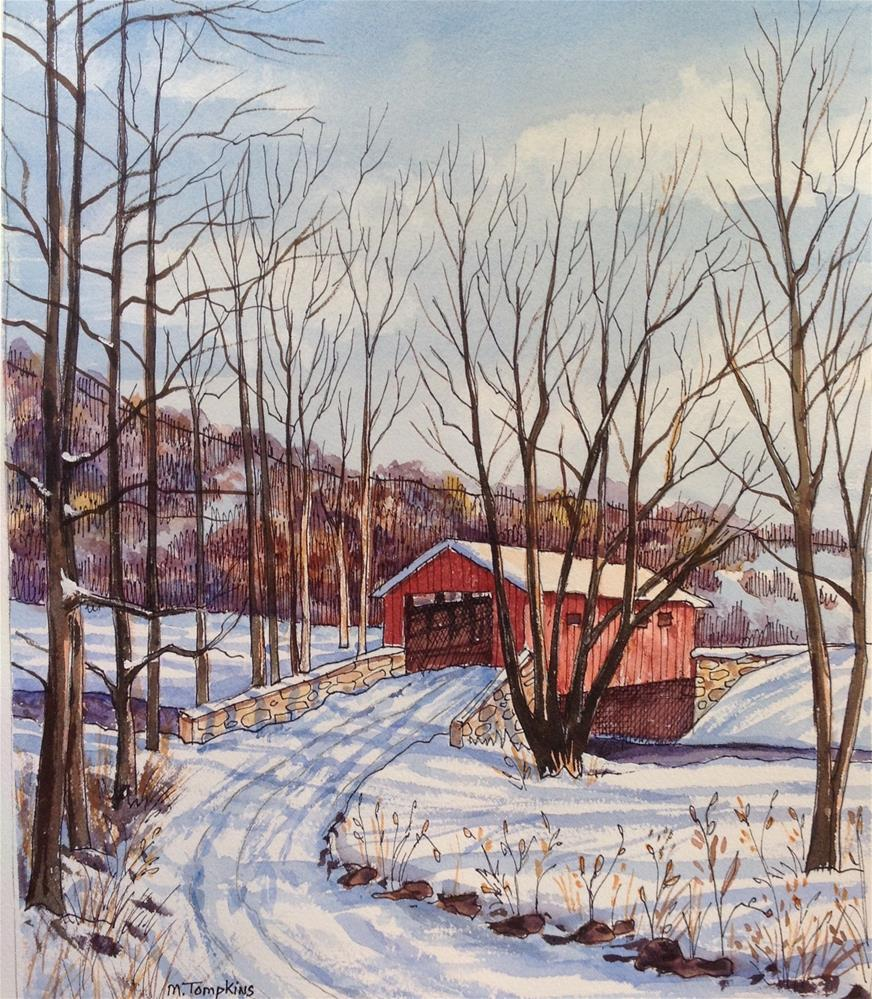 """Vermont"" original fine art by Mark Tompkins"