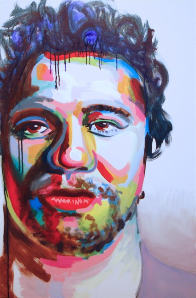 """""""color contact 6"""" original fine art by michael vigneux"""