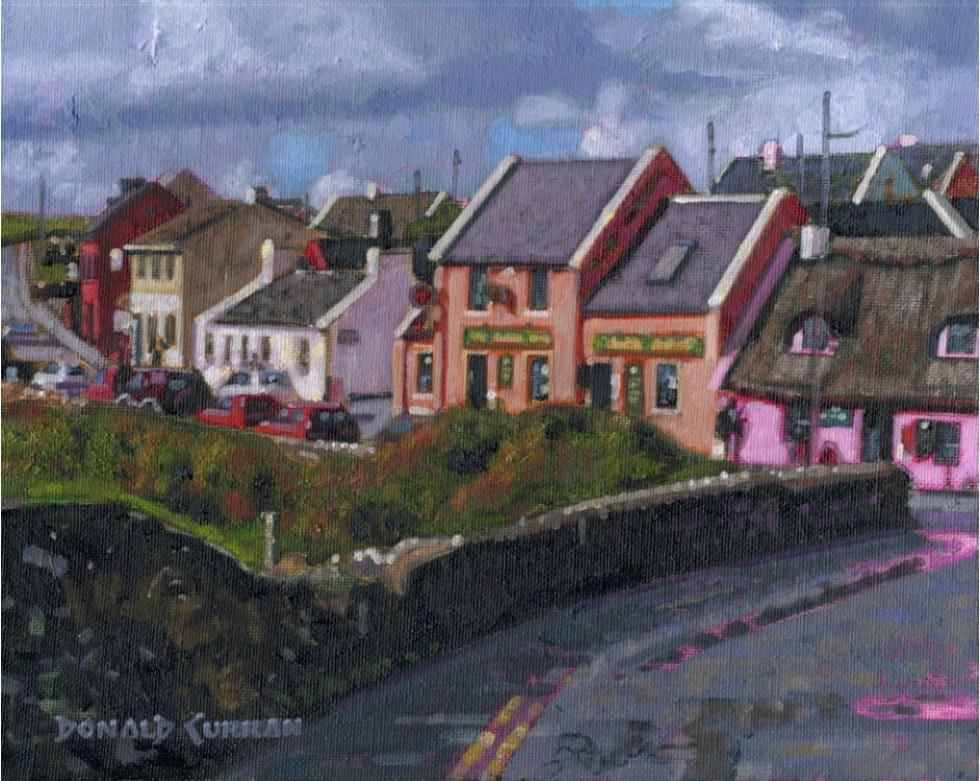 """Doolin, Ireland"" original fine art by Donald Curran"