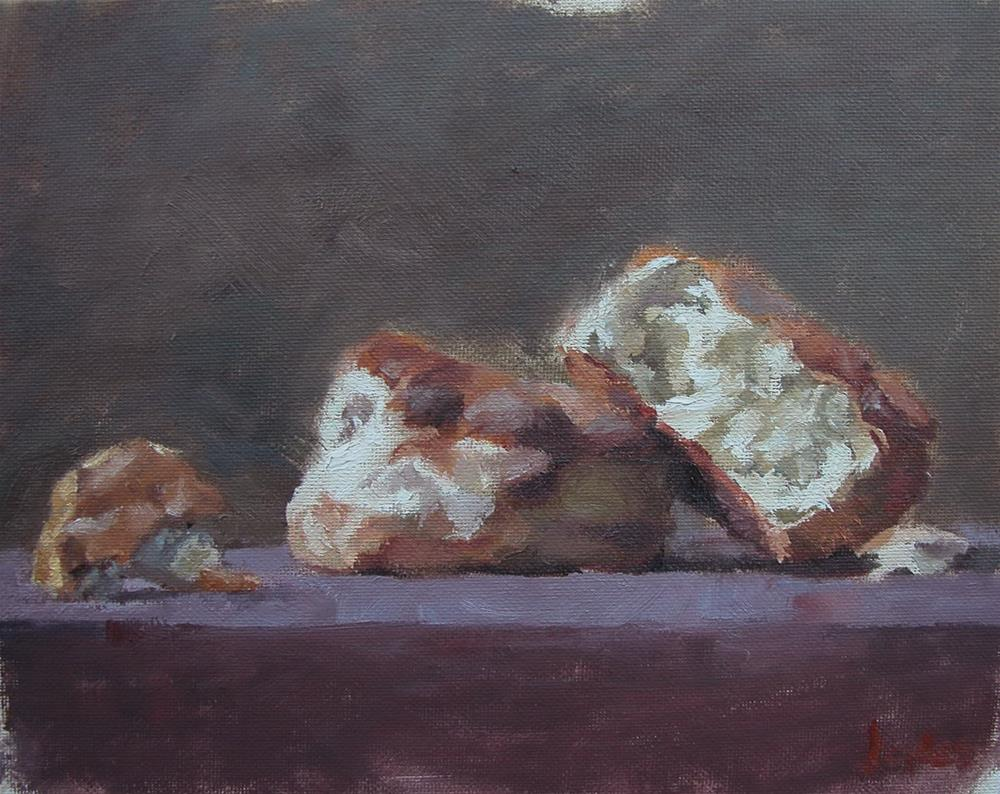 """Biscuits"" original fine art by Richard Jones"