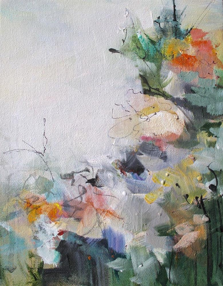 """Floral 2"" original fine art by Karen Hale"