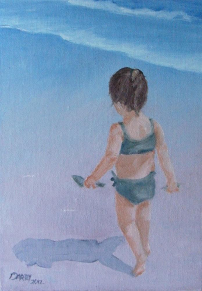 """""""On a Quest"""" original fine art by Lynn Darby"""