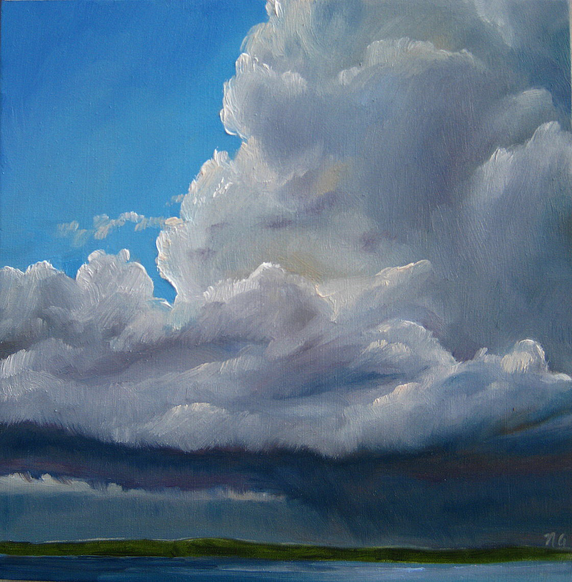 """Low Storm II"" original fine art by Nicki Ault"