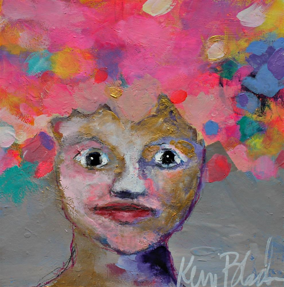 """Flower Girl "" original fine art by Kerri Blackman"