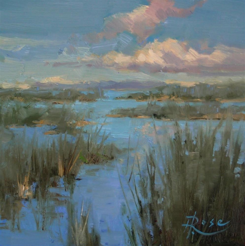 """east end marsh"" original fine art by Howard Rose"