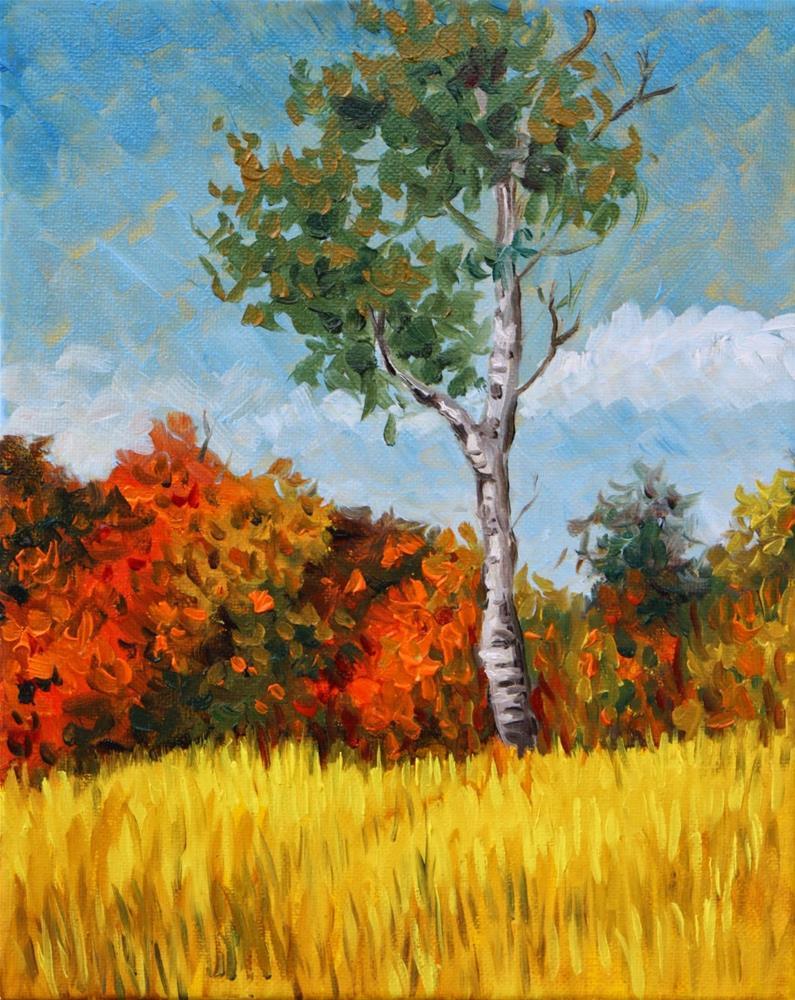 """Autumn travels"" original fine art by Hilary J. England"