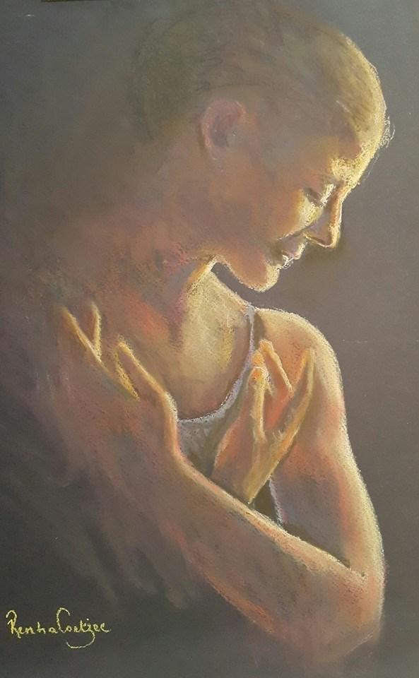 """Encore"" original fine art by Rentia Coetzee"