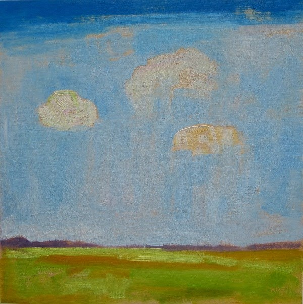 """One Fine Day"" original fine art by Nicki Ault"