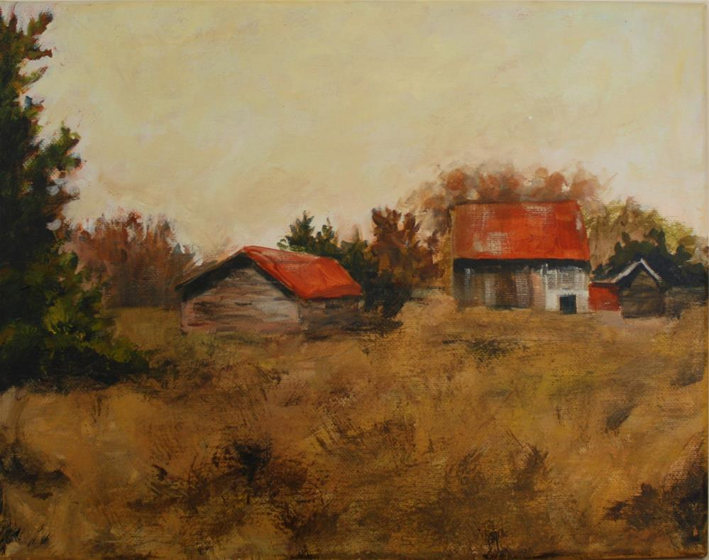 """Not Quite Forgotten"" original fine art by Shannon Bauer"