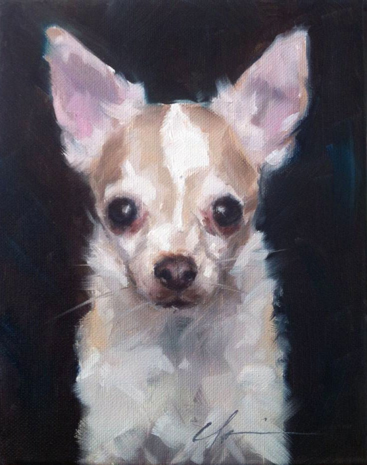 """Maggie"" original fine art by Clair Hartmann"