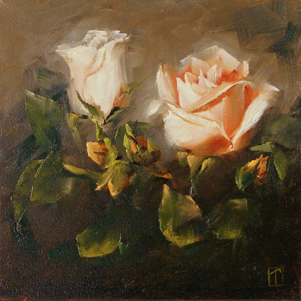 """Rose Study 6"" original fine art by Lori Twiggs"