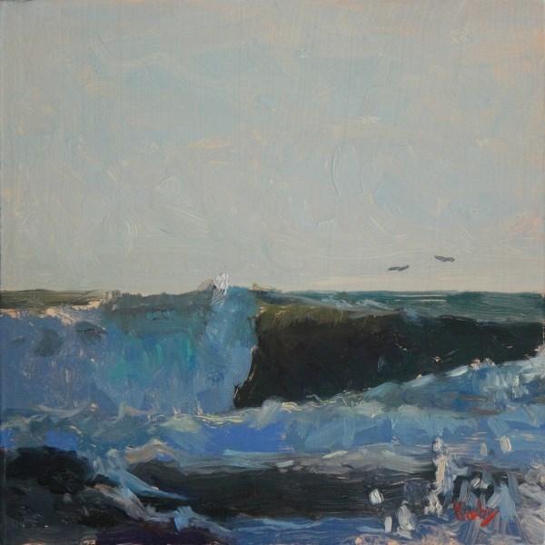"""High Tide at 27th"" original fine art by Randall Cogburn"