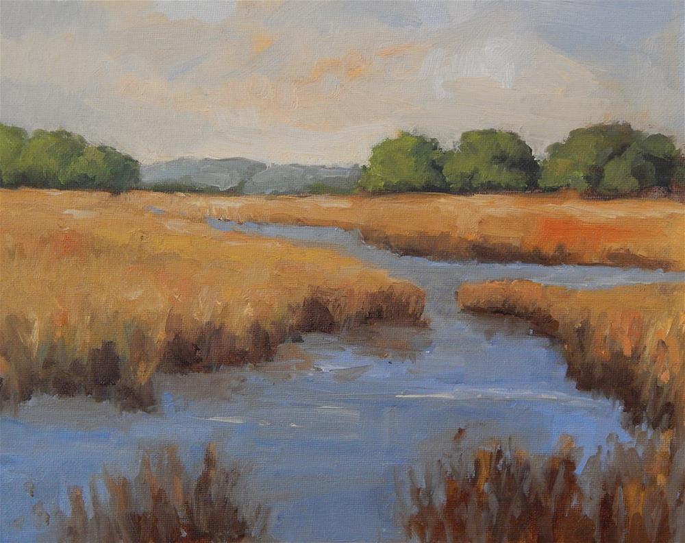 """Marsh Beauty"" original fine art by Lisa Kyle"