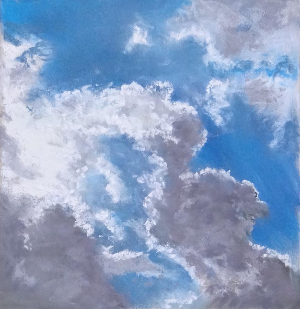 """Sky #3"" original fine art by Denise Beard"