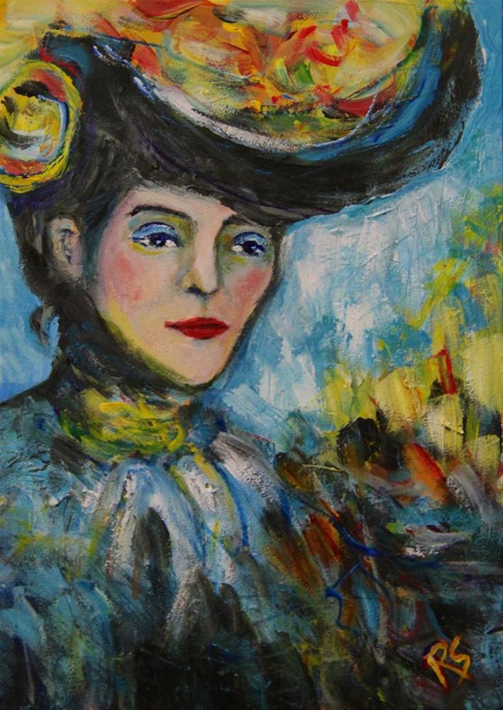 """A Model for Picasso"" original fine art by Roberta Schmidt"