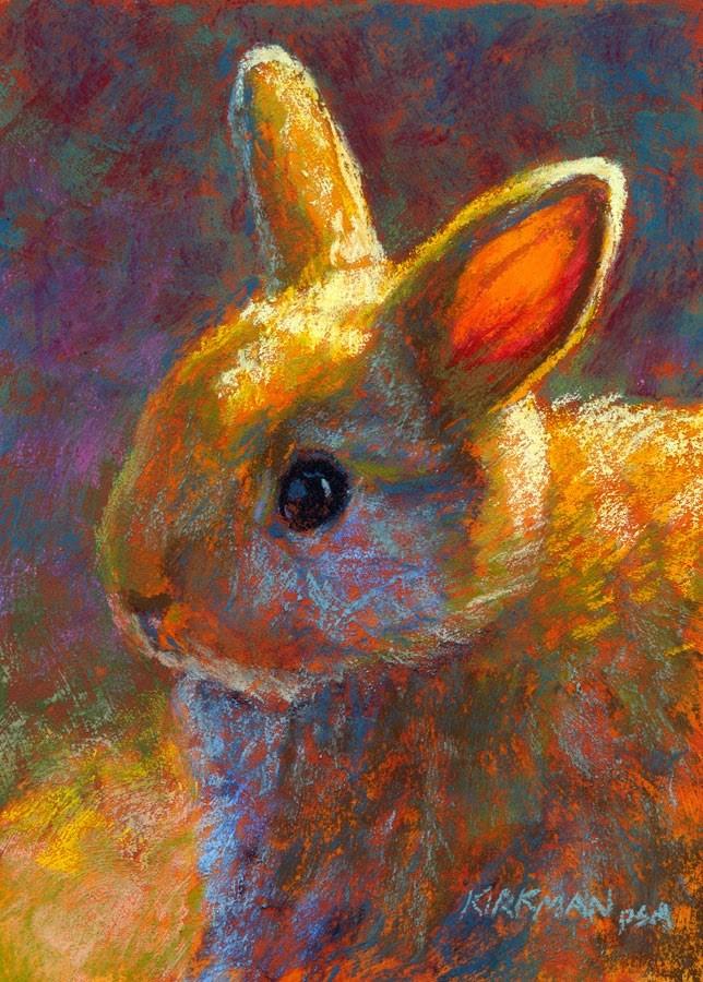 """Twinkie"" original fine art by Rita Kirkman"