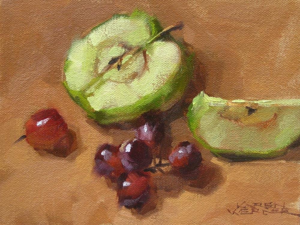 """""""Natural Snack 2"""" original fine art by Karen Werner"""