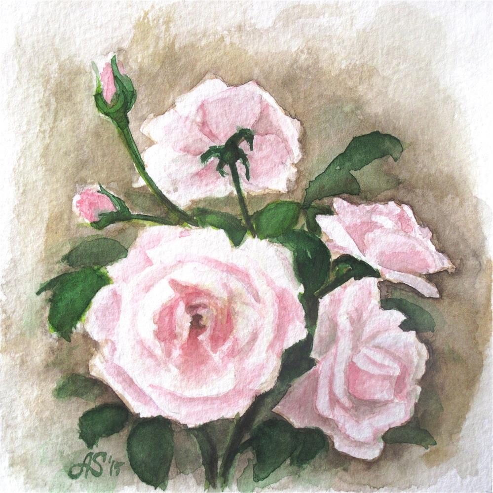 """Quartz rose"" original fine art by Anna Starkova"