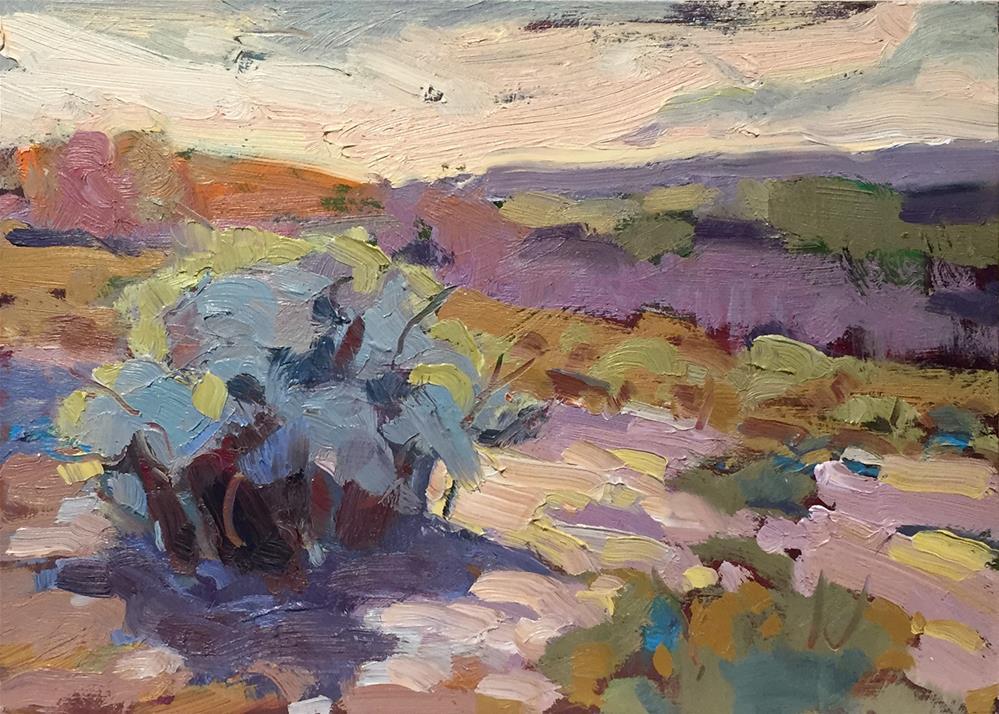 """""""Sage Bouquets"""" original fine art by Laura Gable"""