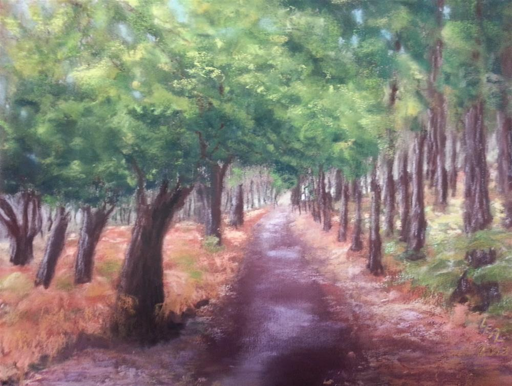 """The Way Home"" original fine art by Anna Lisa Leal"