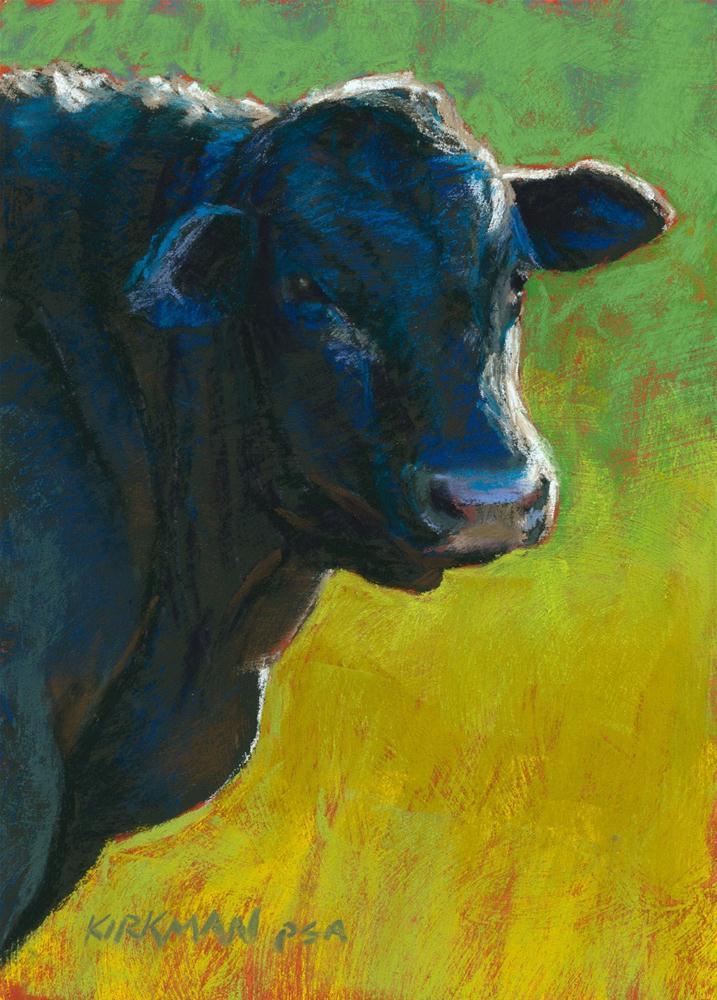 """Brutus"" original fine art by Rita Kirkman"