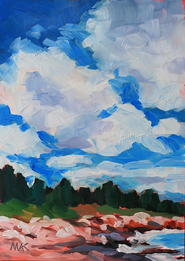 """Big Sky"" original fine art by Mary Anne Cary"