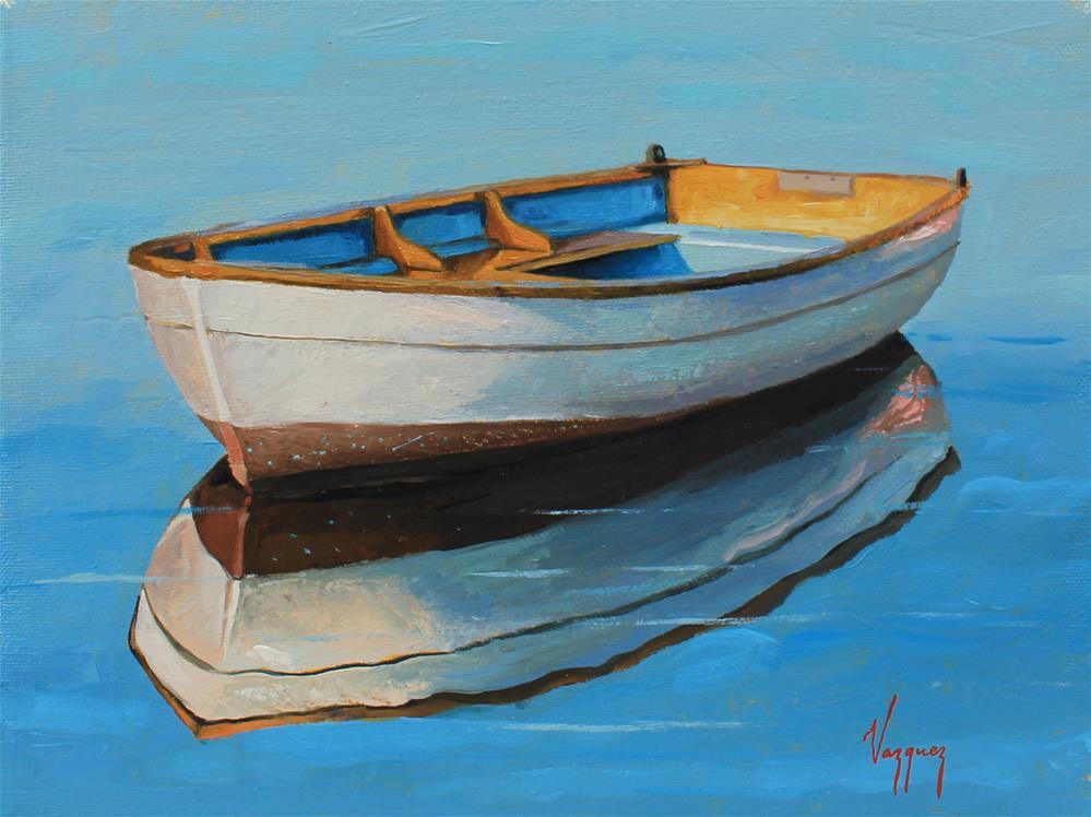 """""""Calmness"""" original fine art by Marco Vazquez"""