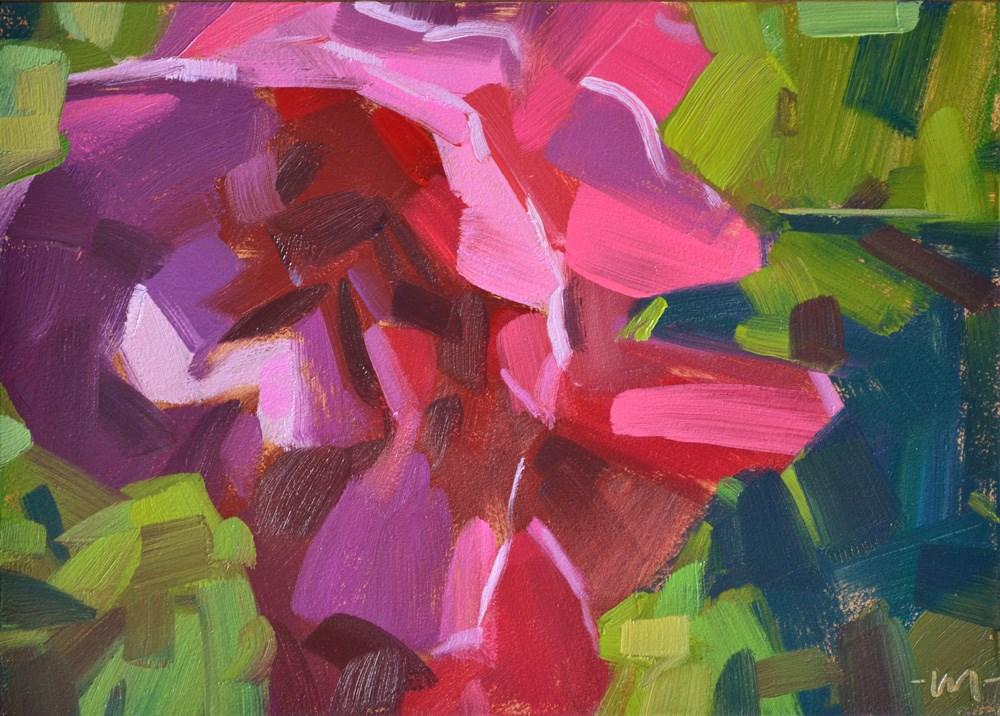 """Premrose"" original fine art by Carol Marine"