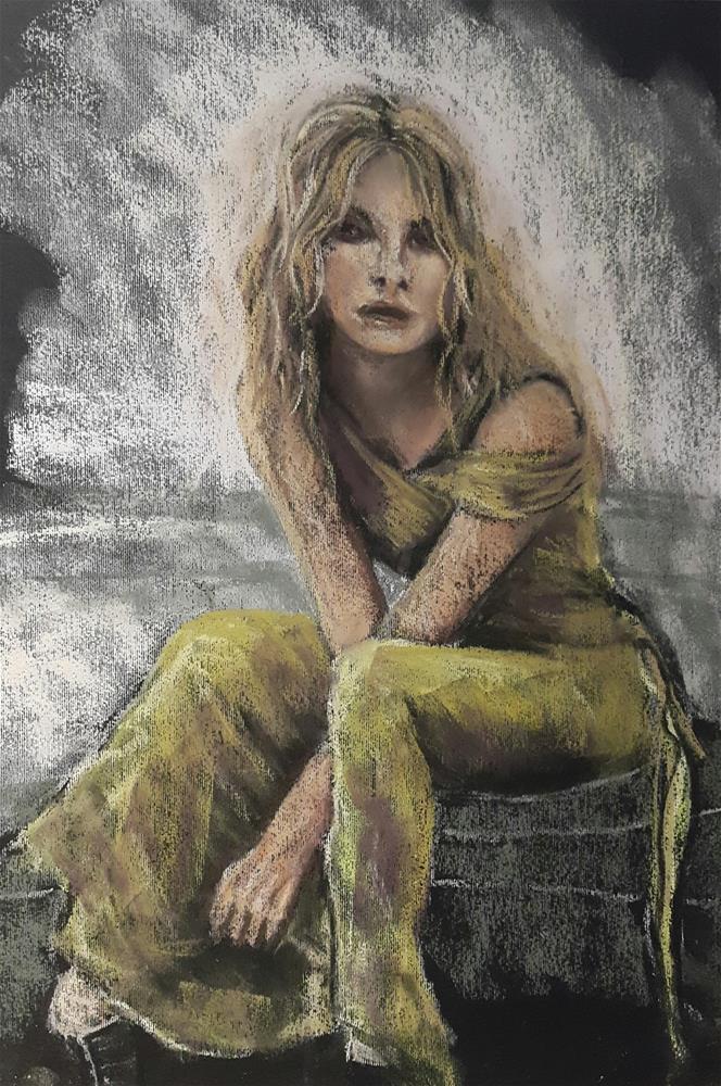 """Cinderella"" original fine art by Rentia Coetzee"