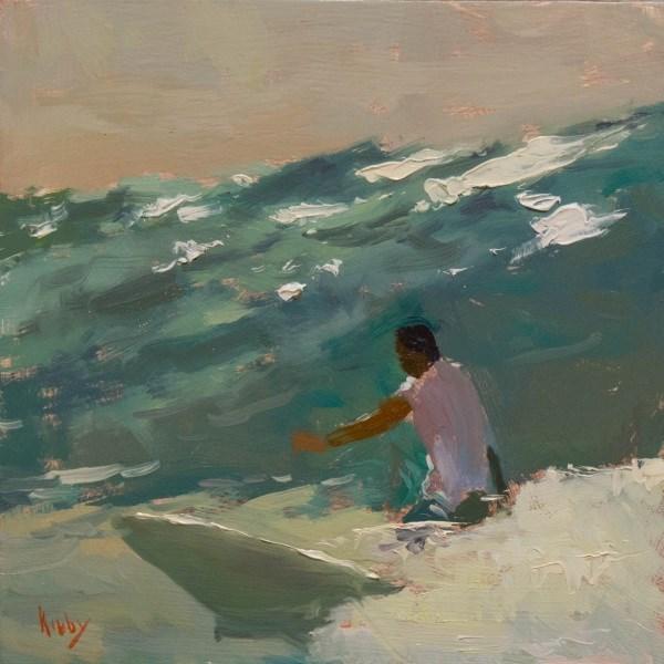 """Wave Rider"" original fine art by Randall Cogburn"