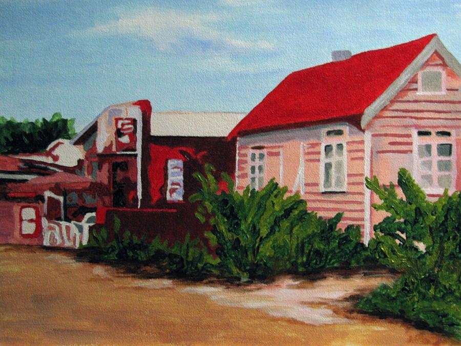 """Bermuda"" original fine art by Nan Johnson"