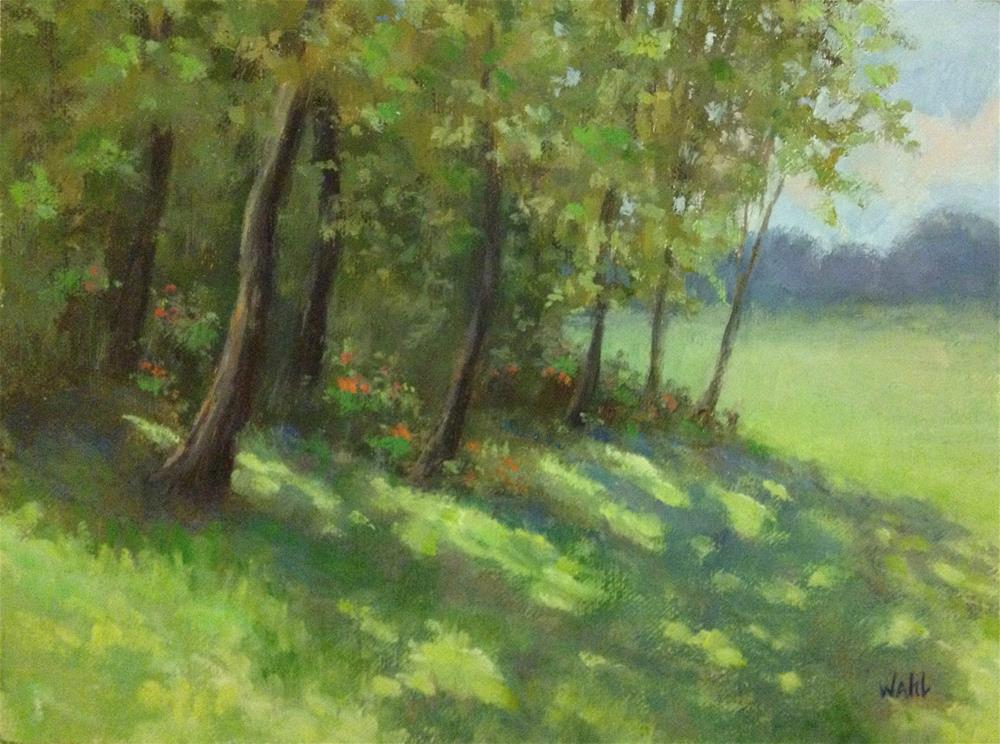 """Morning Shadows"" original fine art by Nancy Wahl"