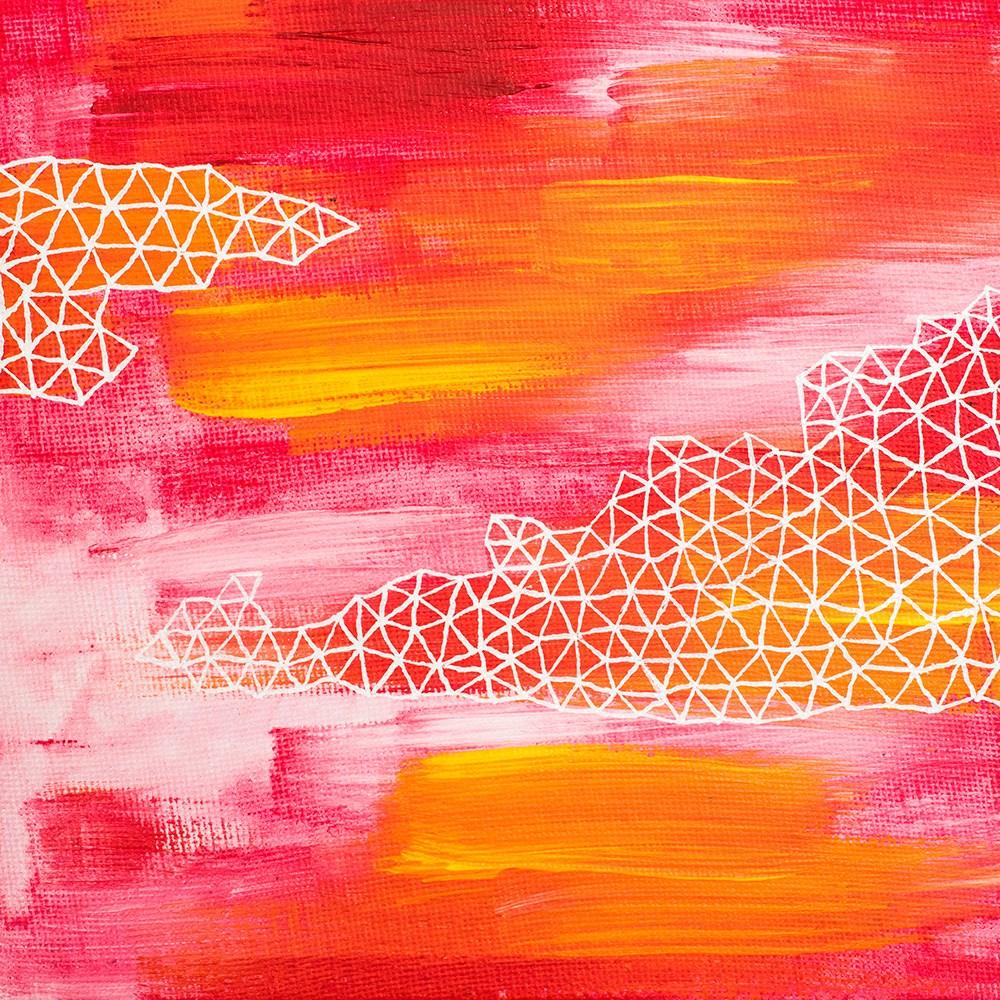 """""""Pink Zen"""" original fine art by Franziska Schwade"""