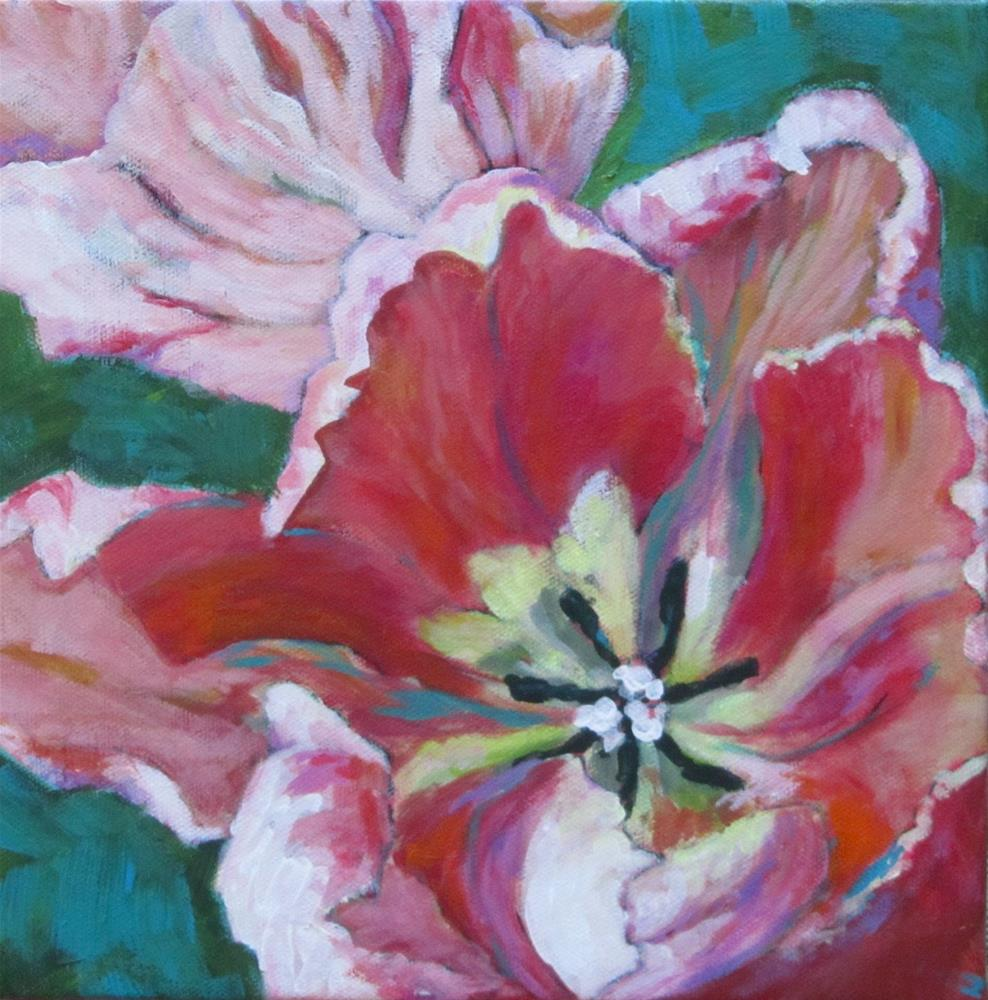 """Tulips"" original fine art by Patricia MacDonald"