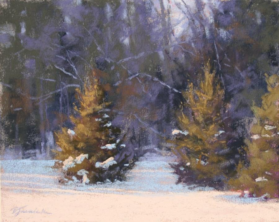 """Three's a Crowd"" original fine art by Barbara Jaenicke"