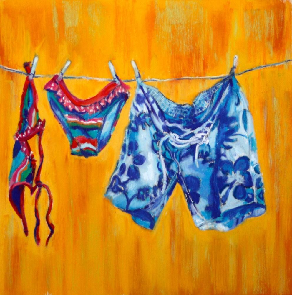 """""""Patterns of Summer"""" original fine art by Jill Bates"""