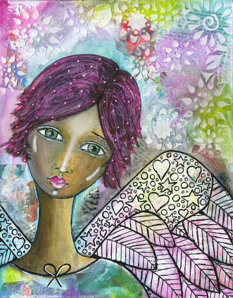 """Jaz"" original fine art by Kali Parsons"
