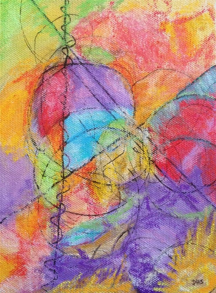 """Late Autumn Yield"" original fine art by Dotty  Seiter"