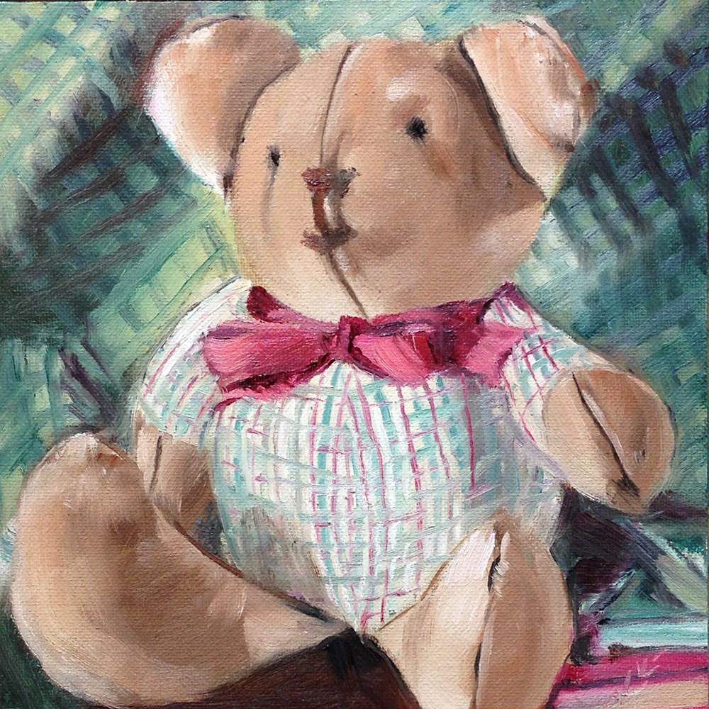 """My Childhood"" original fine art by Linda Lowery"