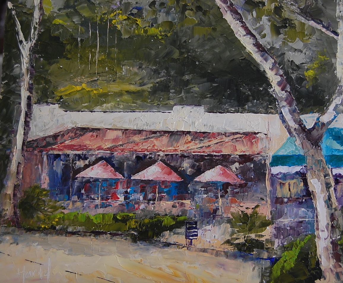 """Montecito"" original fine art by Deborah Harold"