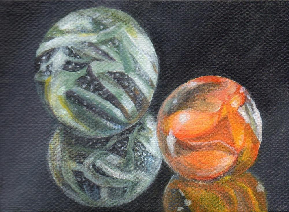 """Other Worlds"" original fine art by Debbie Shirley"