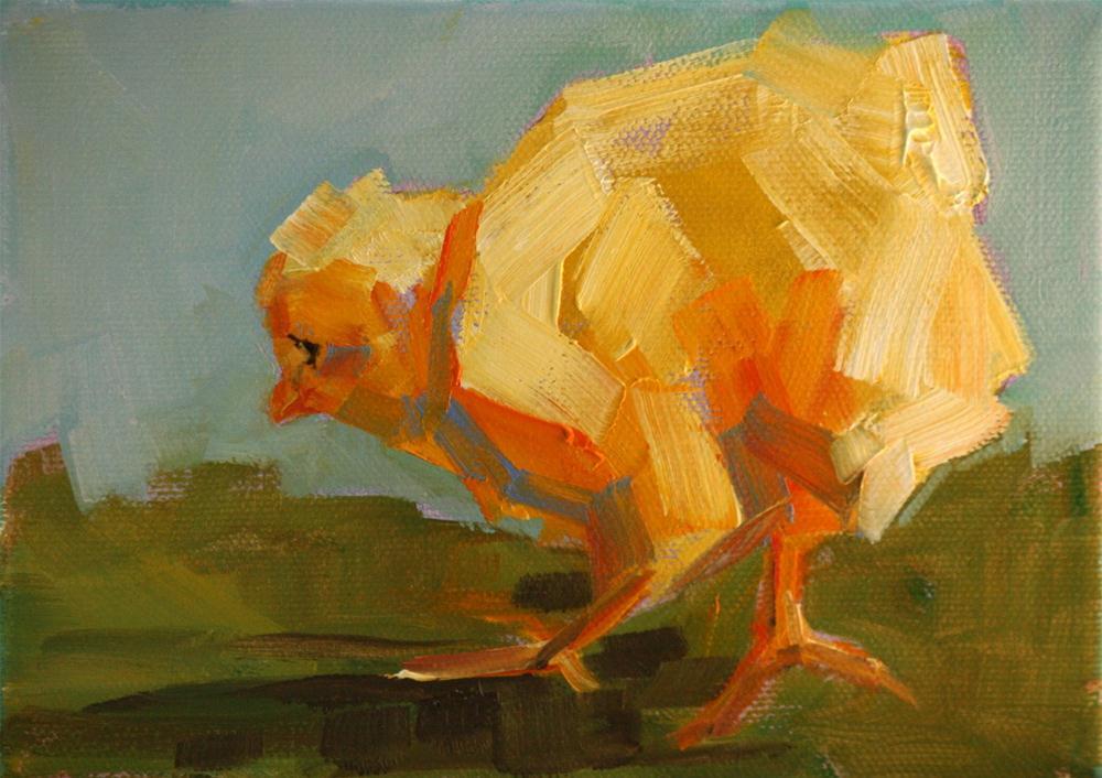 """""""baby fresh"""" original fine art by Carol Carmichael"""