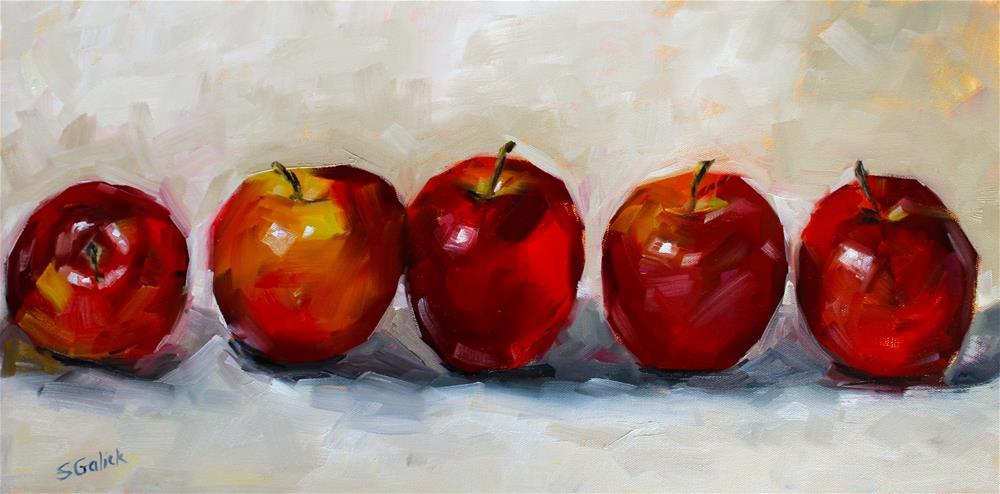 """""""Happy Galas"""" original fine art by Susan Galick"""