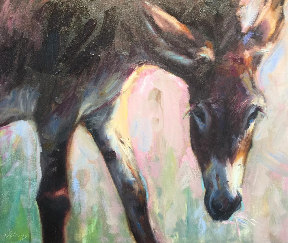 """""""Hangover"""" original fine art by Jenny Buckner"""