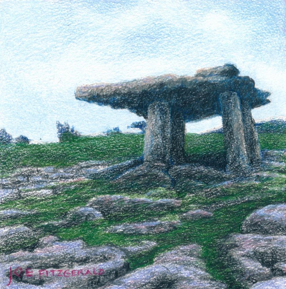 """Poulnabrone"" original fine art by Joe Fitzgerald"